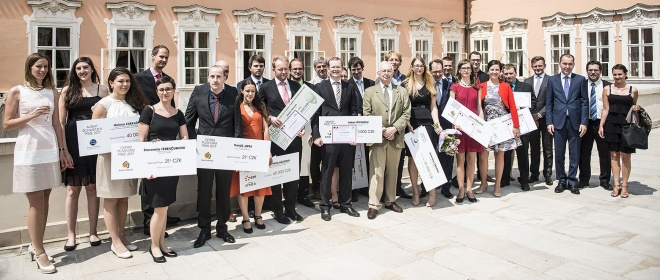 Slavnostní předání cen se uskutečnilo 16. června během slavnostní recepce v sídle Velvyslanectví Francie v ČR v Buquoyském paláci