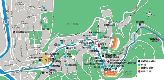 Mapa Karlovy Vary Kolonada Mapa