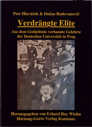 At the end of October 2013 the Hartung Gorre publisher's in Konstanz published the German edition of the book The Displaced Elite (2012), whose authors are Petr Hlaváček and Dušan Radovanovič from the Collegium Europaeum FF UK & FLÚ AV ČR. The book Verdrängte Elite: Aus dem Gedächtnis verbannte Gelehrte der Deutschen Universität in Prag, translated by Pavel Chabr, remembers the tragic fate of Jewish scholars from the German University during the Second World War.