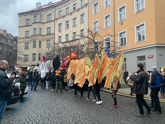Masopust in Prague, 2019. Photo: Molly Fergus.