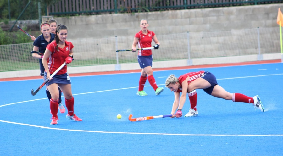 Eye on the ball: field hockey at this level is no field day!